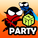 Jumping Ninja Party 2 Player Games icon