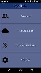 PoolLab App - náhled