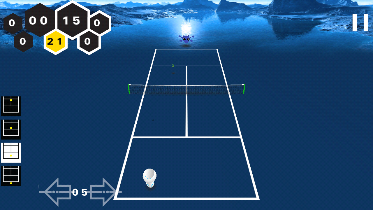 Alien Tennis- screenshot