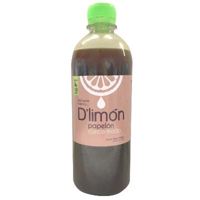 jugo d limon papelon concentrado 500ml