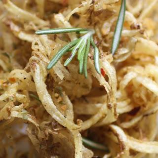 Garlic Herb Spiralizer Fries.