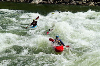 Photo: Kayaking on the Main Salmon River in central Idaho.