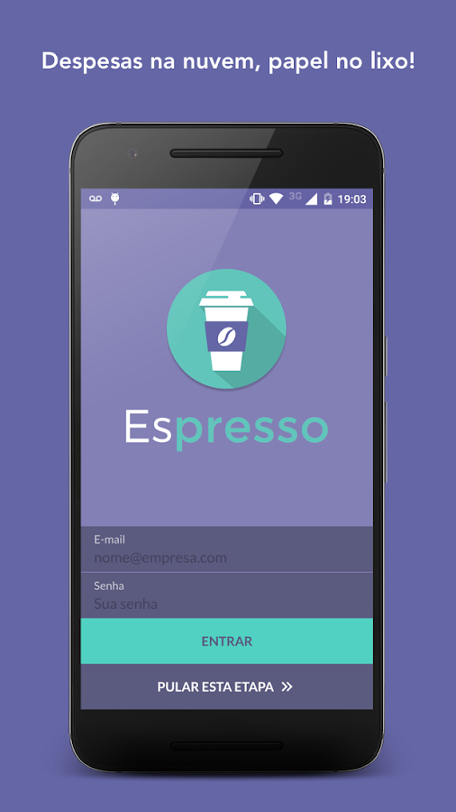 Espresso Despesas Corporativas- screenshot