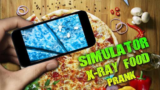 Simulator X-Ray Food Prank