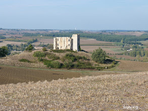Photo: Une forteresse du Gers