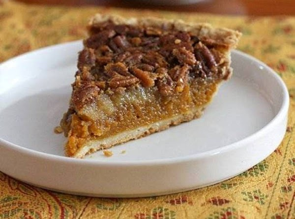 Egg-nog Pumpkin Pie Recipe