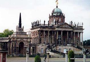Photo: Potsdam. Sanssouci. Die Communs (1763-1769).