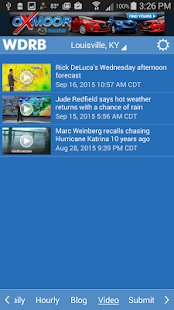 WDRB Weather & Traffic- screenshot thumbnail
