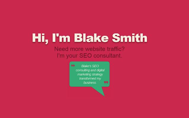 Blake Smith's SEO Consulting