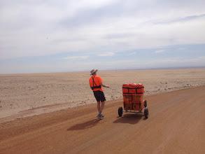 Photo: Charles Hedrich, Atacama, en marche