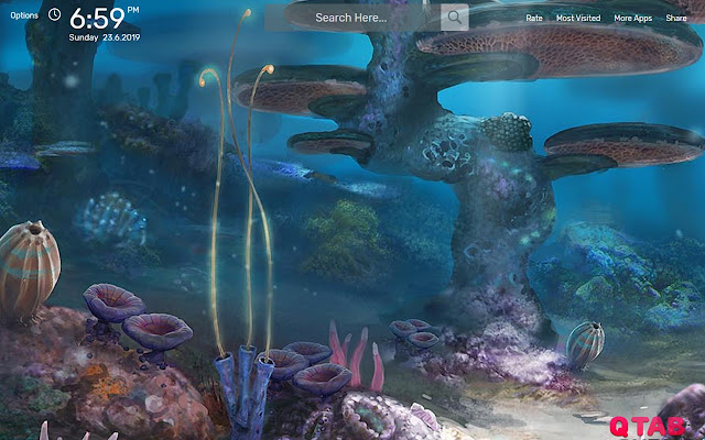 Subnautica Wallpapers New Tab Theme