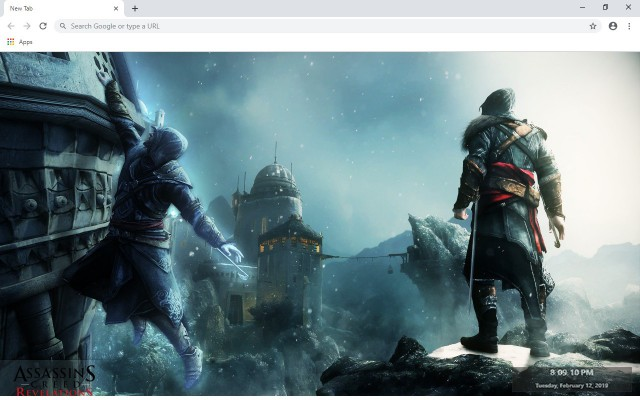 Assassin's Creed Revelations New Tab