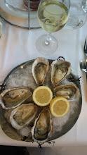 Photo: Huiles, Oysters..... Blanc..... Enjoyful when fresh