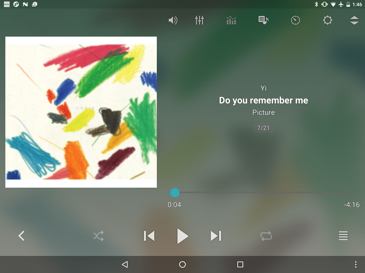 jetAudio HD Music Player- screenshot