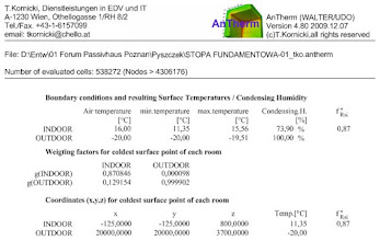 Photo: thermal bridge ground floor slab - surface condensation results - AnTherm http://antherm.eu