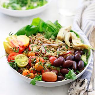 Lentil Tomato Cucumber Salad Recipes