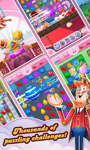 Candy Crush Saga MOD (Unlimited Lives/Levels Open) 2