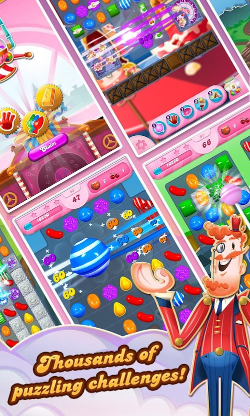 Screenshot 2 Candy Crush Saga 1.141.1.1 APK MOD