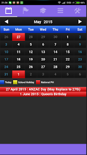 New Zealand Calendar - náhled