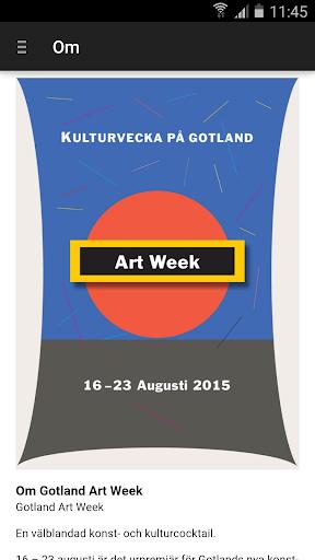 Gotland Art Week