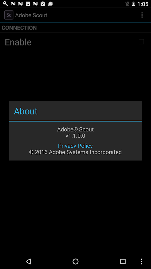 Adobe Scout- screenshot