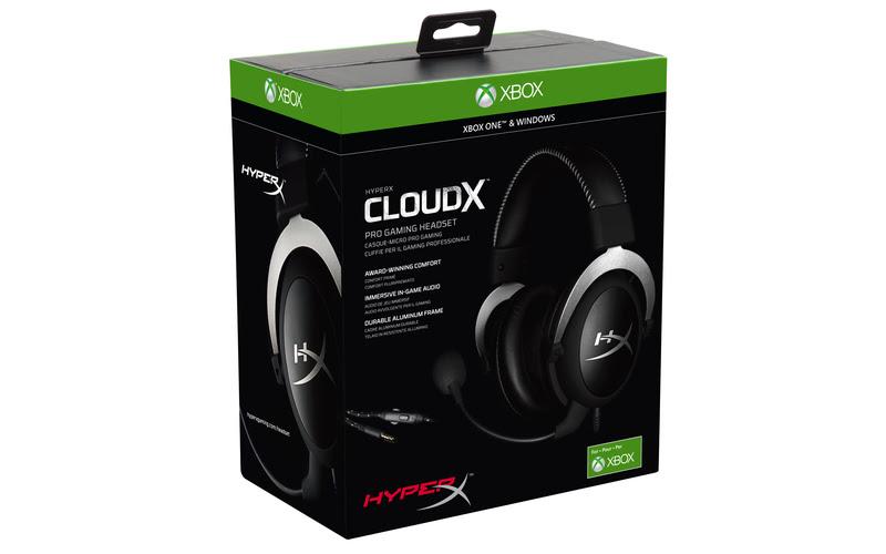 HyperX ra mắt tai nghe mới CloudX dành cho game thủ Xbox One