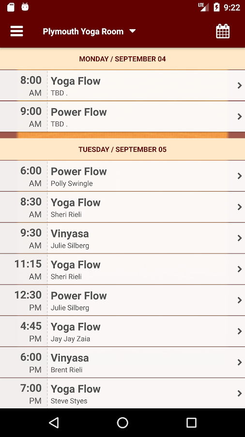 MI Yoga Room- screenshot