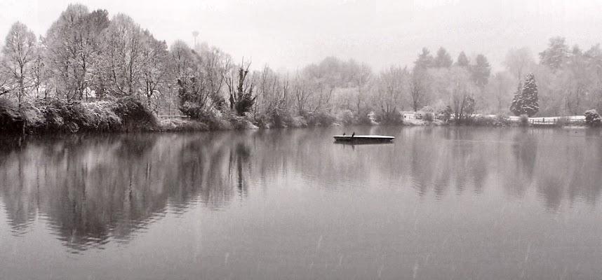 laghetto a gennaio di smpaint