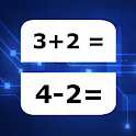 JRMath - mental arithmetic for adults, math games icon