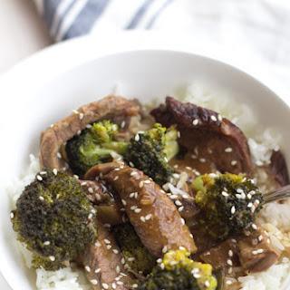 Healthy Crockpot Beef and Broccoli Recipe