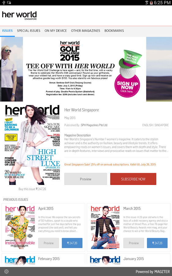 Her World Singapore- screenshot