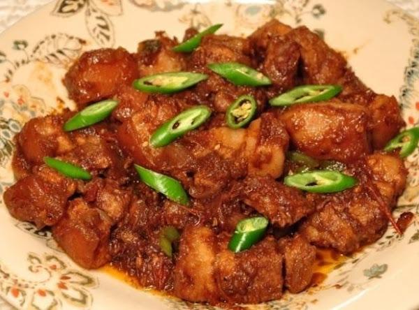 Binagoongan (pork Cooked In Shrimp Paste) Recipe