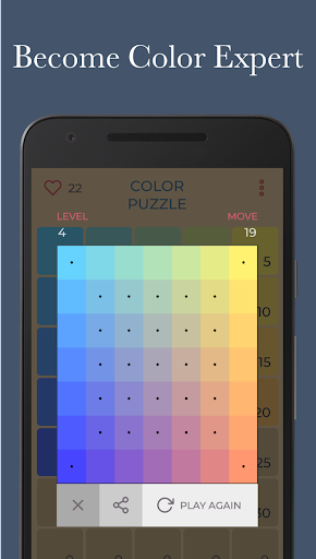Color Puzzle - Master Color and Hue for PC