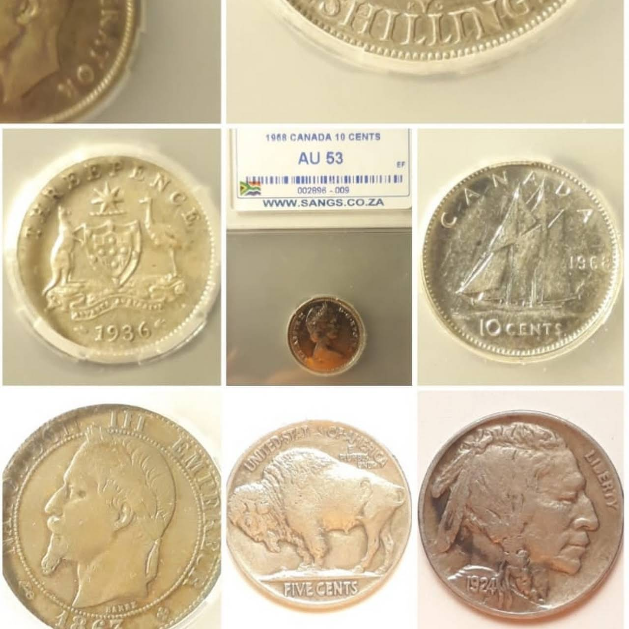 Mperor's Coins - We Buy and sell coins and notes in Benoni