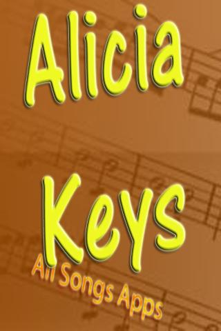 All Songs of Alicia Keys