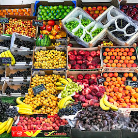 Fruits  by Abdul Rehman - Food & Drink Fruits & Vegetables ( banana, grapes, fruits, apples, apricot,  )