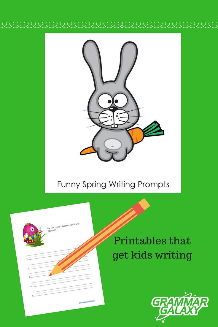 funny spring writing prompts