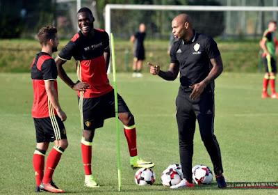 """Thierry Henry: """"La grande équipe de Belgique, c'est les Ceulemans, Gerets, Vercauteren..."""""""