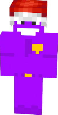 A Christmas version of Purple Guy.