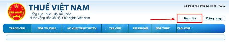 website cục thuế