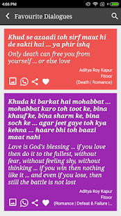 Aditya Roy Kapoor Dialogues - náhled