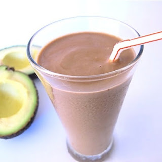 Chocolate Avocado Milkshake.