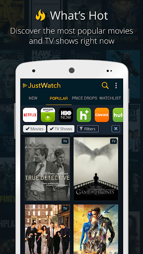 JustWatch - Search Engine for Streaming and Cinema 0.22.3 screenshots 4