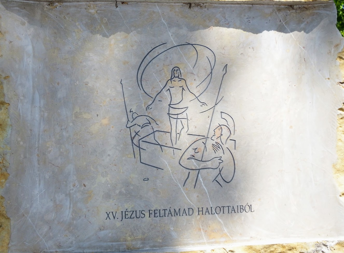 Vonyarcvashegy - Keresztút a Fénykereszthez