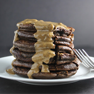 Chocolate & Nuttzo Nut Butter Pancakes!