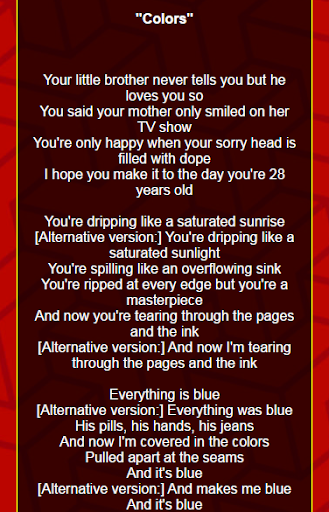 Download Halsey Lyrics (2014-2016) Google Play softwares