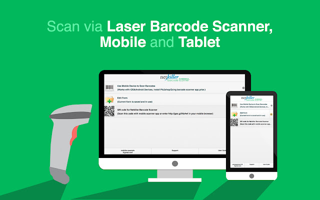 Barcode Scanner for Google Sheets - G Suite Marketplace