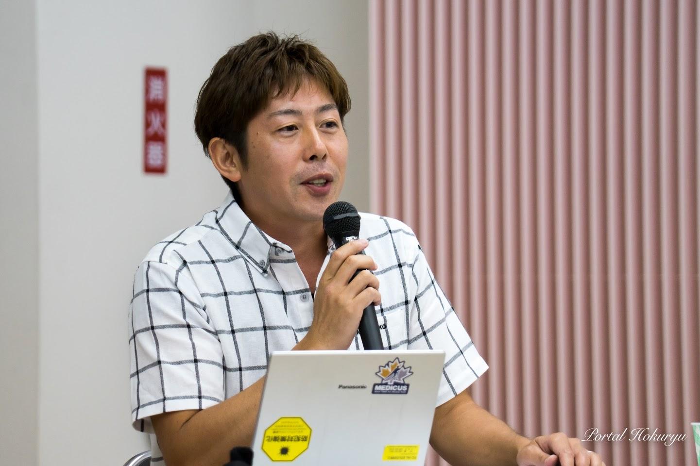 野達也氏(若年認知症サポートセンターきずなやゼネラルマネージャー)