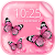 Pink Butterfly Live Wallpaper file APK Free for PC, smart TV Download