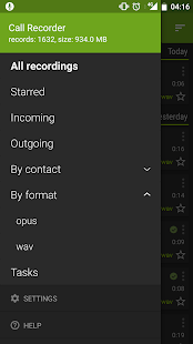 Call Recorder - SKVALEX (Trial) Screenshot